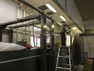 冷凍野菜製造工場にて導入